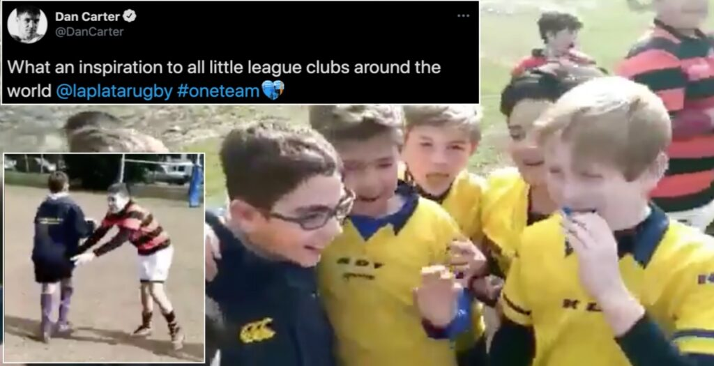 Dan Carter shares inclusive moment which will inspire EVERYONE who watches