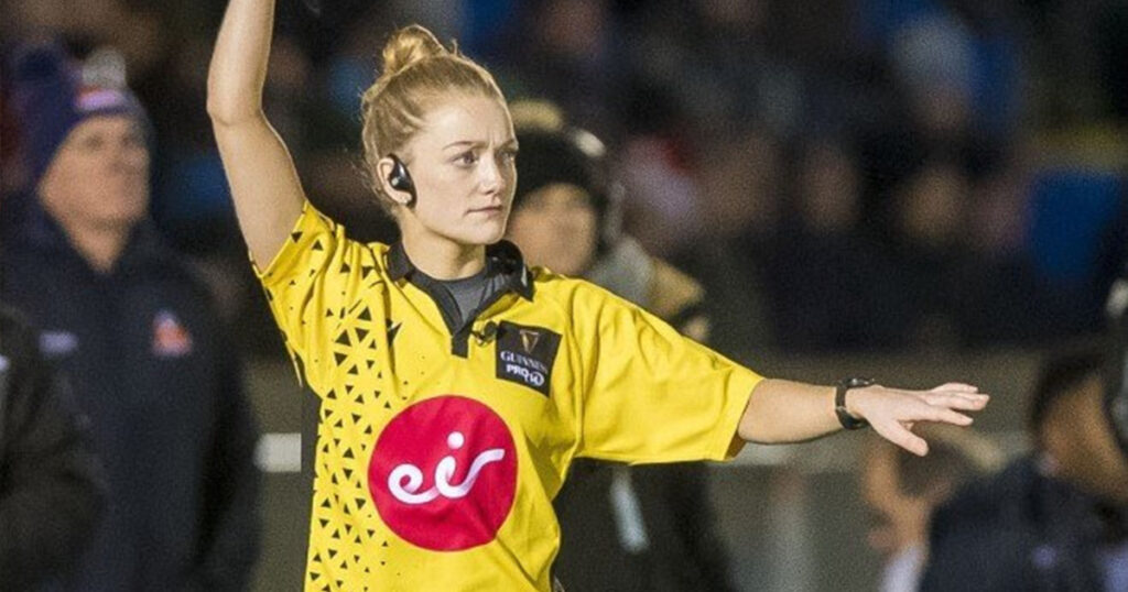 Hollie Davidson set to become the second female referee in the PRO14