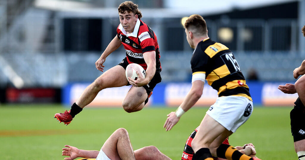 Young Kiwi flyer signed by Glasgow Warriors