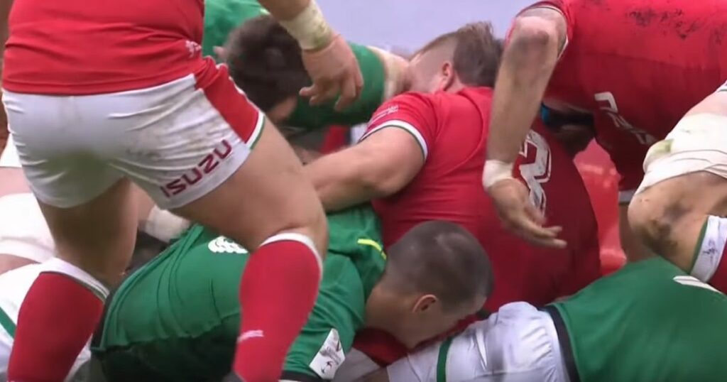 Ireland's O'Mahony banned for three matches after reckless sending off