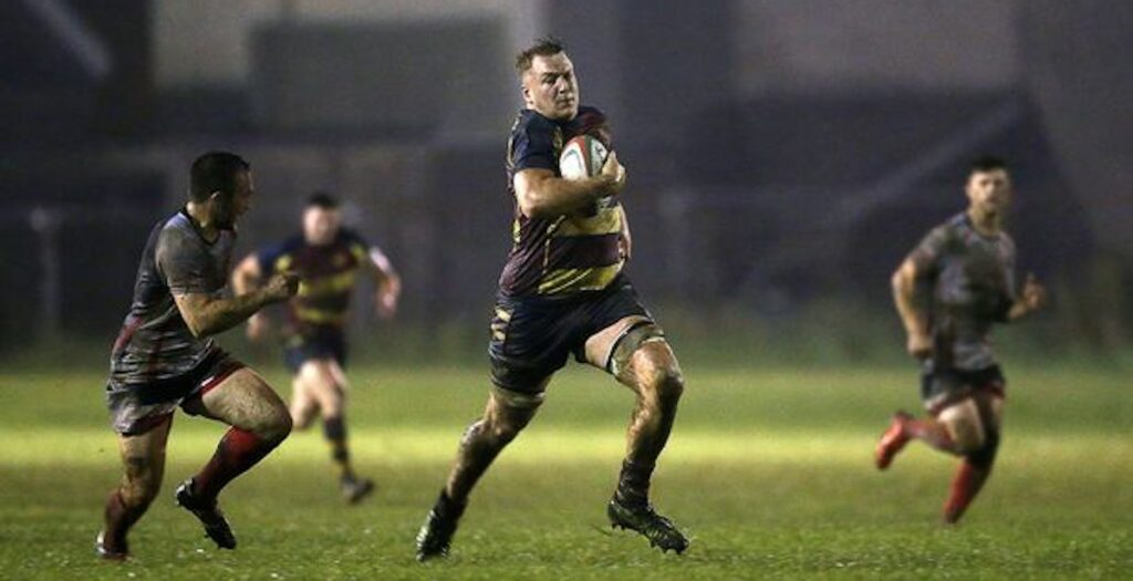 Alex Dombrandt's university highlights look like a man playing U16 rugby