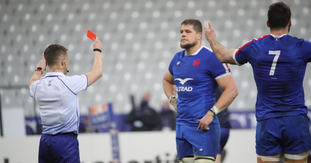 Wales hooker responds to Galthié claims that they play for red cards