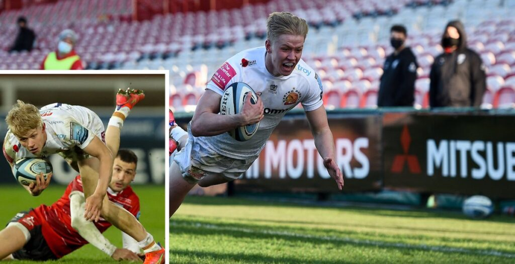 Exeter youngster's stunning first Premiership try is sign of things to come