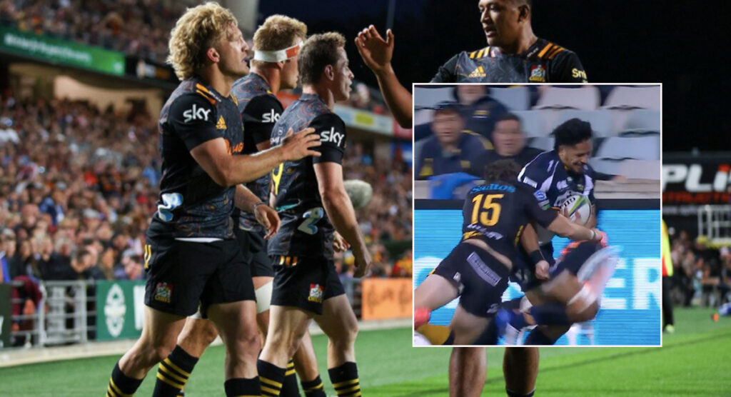 Who did it better? Full backs make stunning try-saving tackles to stop certain tries