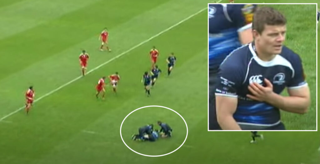 The time Brian O'Driscoll pushed aside physios to make heroic cup final tackle