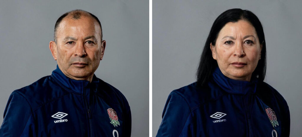 The results of face-swapping Six Nations coaches into women is simply HILARIOUS