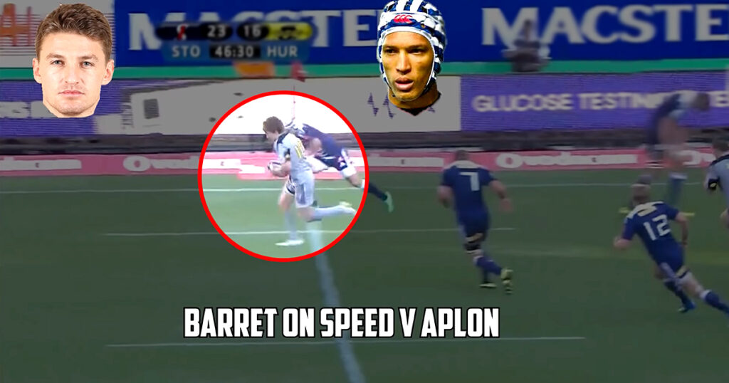 WATCH: Fascinating results when the world's fastest rugby players meet each other