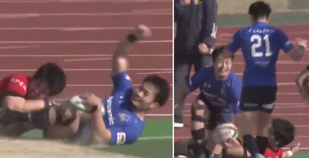 Japanese World Cup star produces moment of footballing brilliance in Top League clash