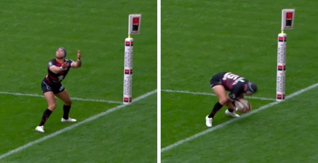 Incredible Kolbe athleticism turns heavy defence into lovely counter attack in Top 14