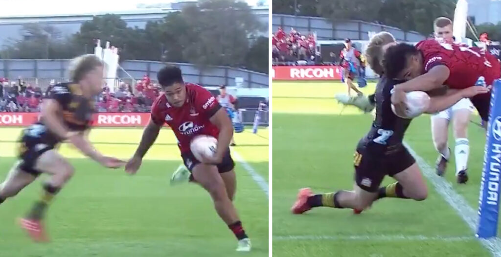 WATCH: Crusaders youngster executes possibly the greatest finish you will EVER see