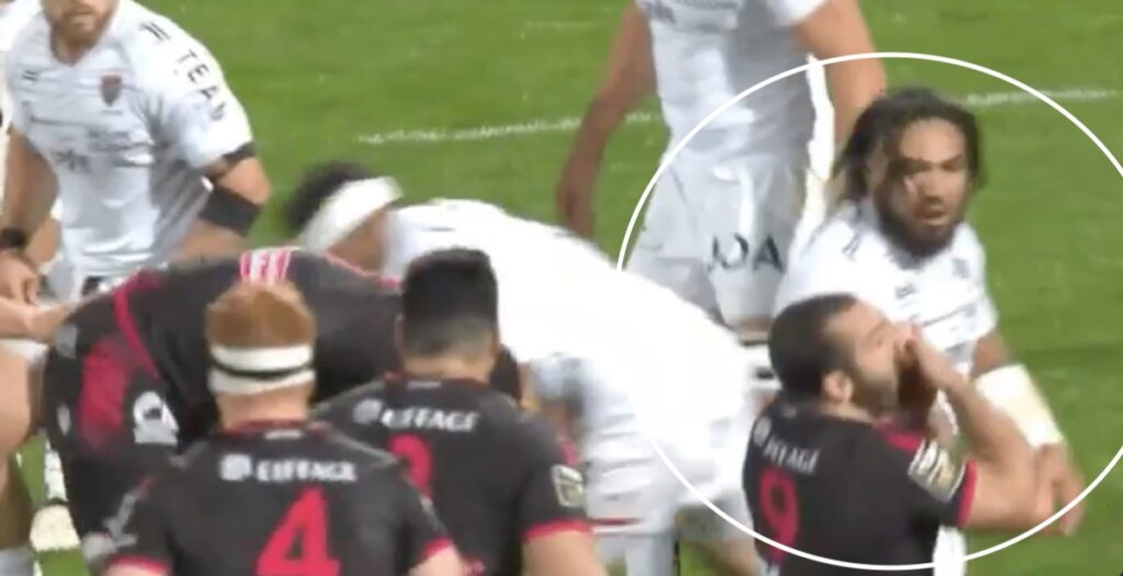 WATCH: French scrum half gets All Blacks great Nonu sent off in Top 14