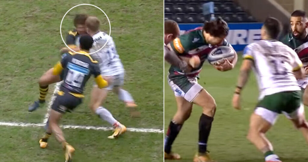 Thorley and Hepetema suspended after dismissals for upright, dangerous tackles