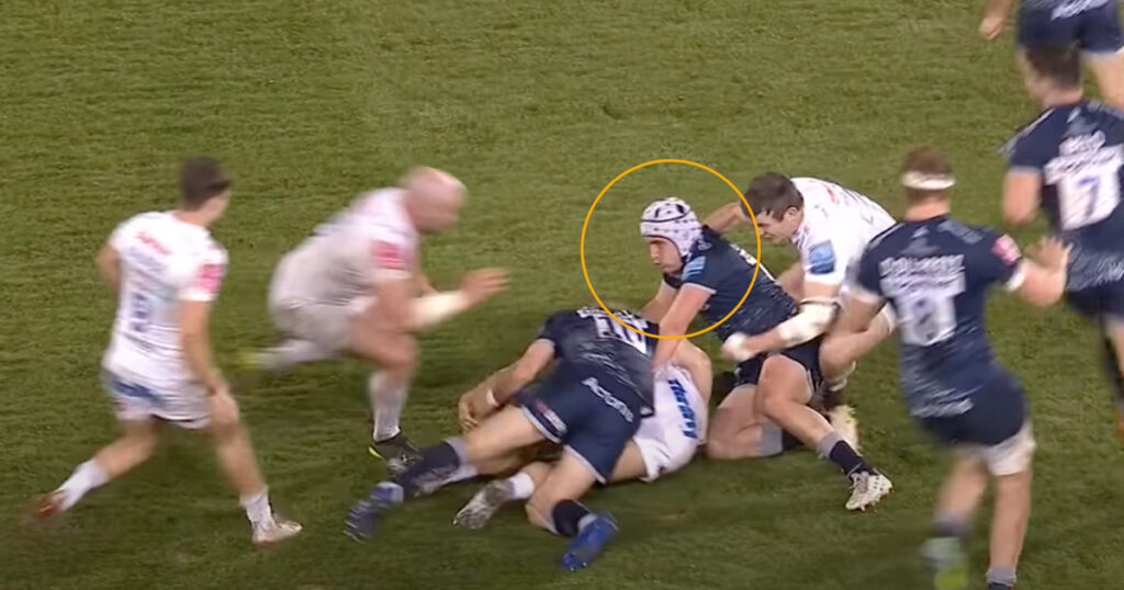 Exeter captain suspended after yet another Red Card occurs at the breakdown