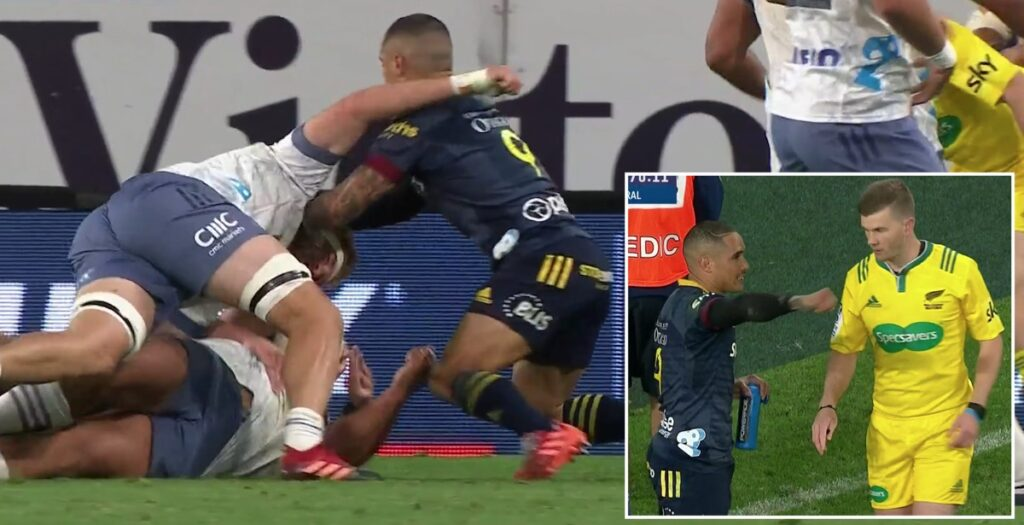 WATCH: Aaron Smith's captain's referral turned down after swinging arm collision