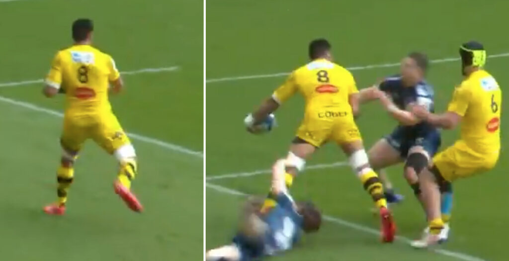 WATCH: The Victor Vito offload fans have been raving about in Champions Cup quarter-final
