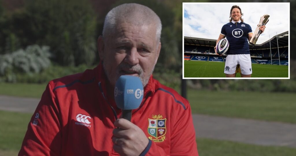 More Scots and fewer English tipped for Lions tour says Gatland