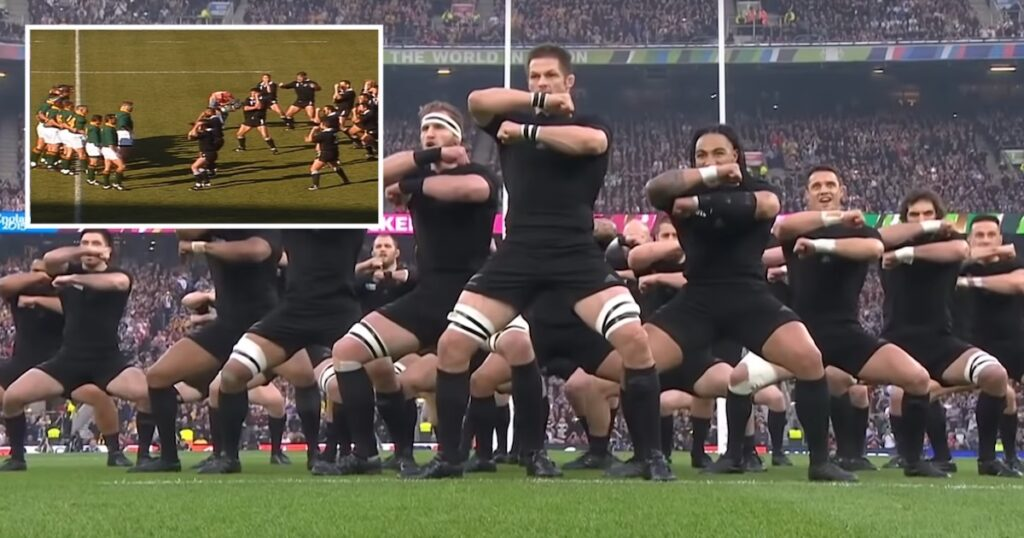 The Haka evolution at Rugby World Cups always fascinates fans
