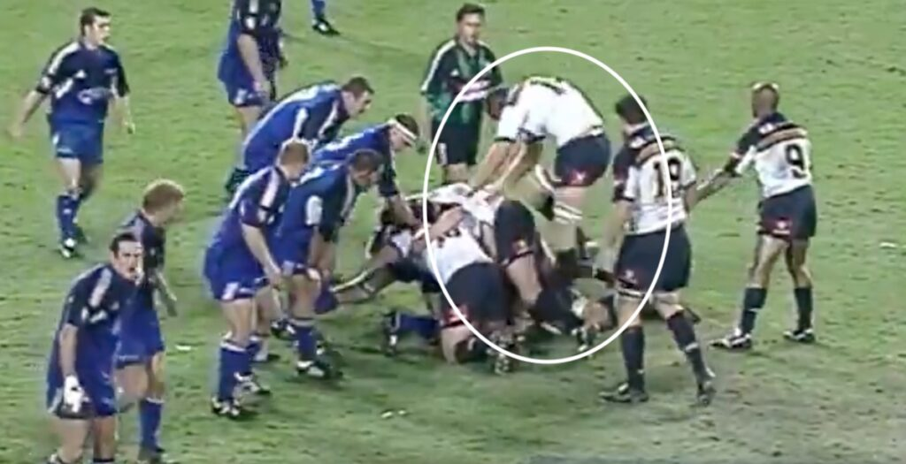 Brutal breakdown stamping in 2003 shows just how much the game has changed in two decades