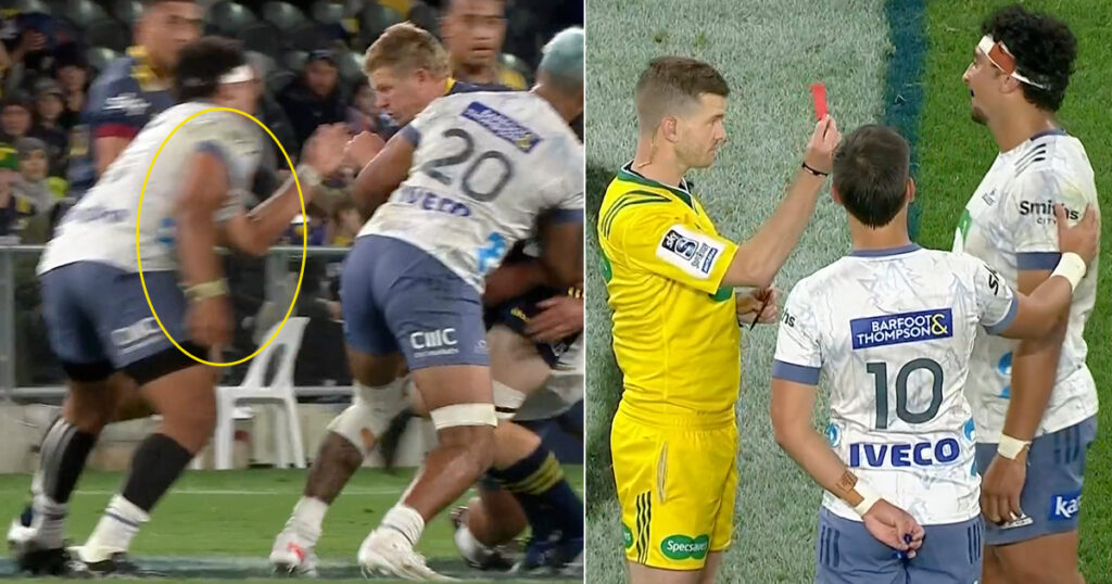 Prop suspended for 3 weeks after flying shoulder makes contact square in the face