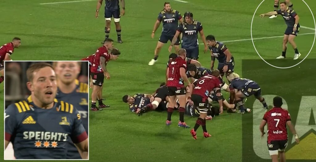 Mitch Hunt executes devastating 70-metre counter attack during shock Crusaders win