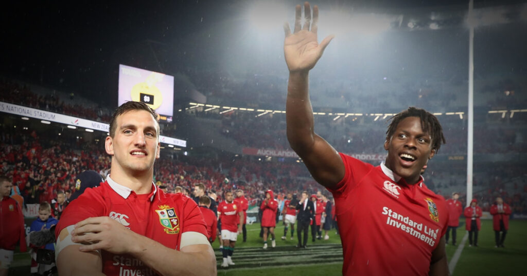 Itoje will be next Lions captain says Warburton, who thinks AWJ's starting place isn't certain
