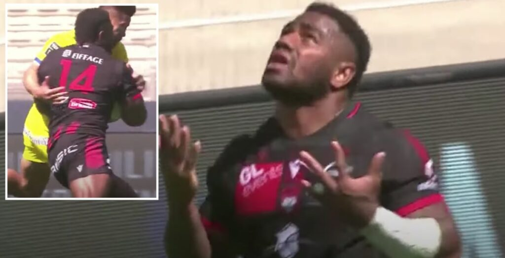 Fiji star Tuisova humiliates Clermont defence with amazing 60-metre try