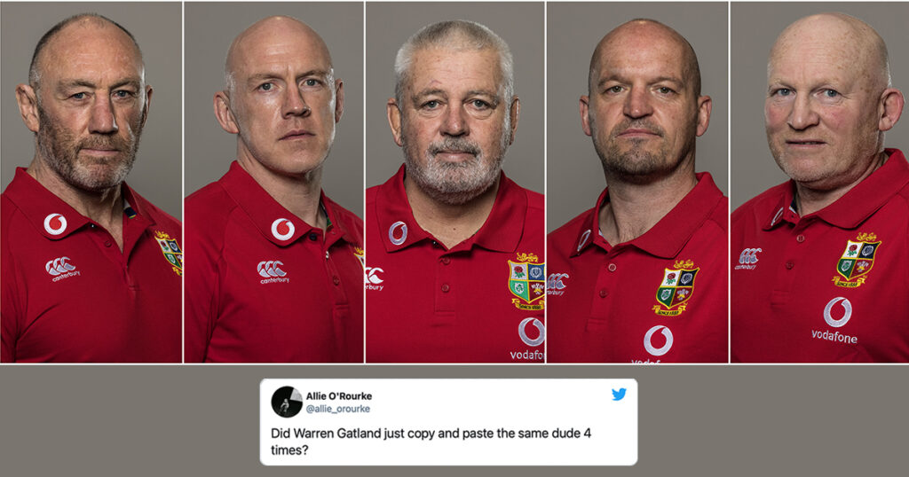 Lions coaching staff announcement elicits some amused responses from fans