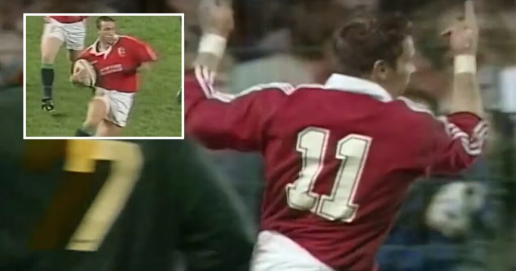 The historic 1997 tour to South Africa featured some of the most memorable Lions tries ever seen