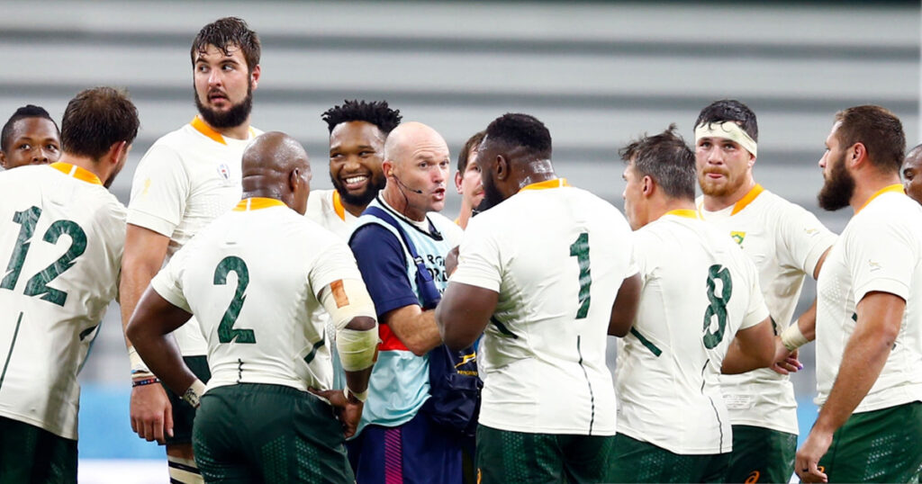 'I haven't seen some of the players since the RWC 2019 victory tour parade' - Springbok coach