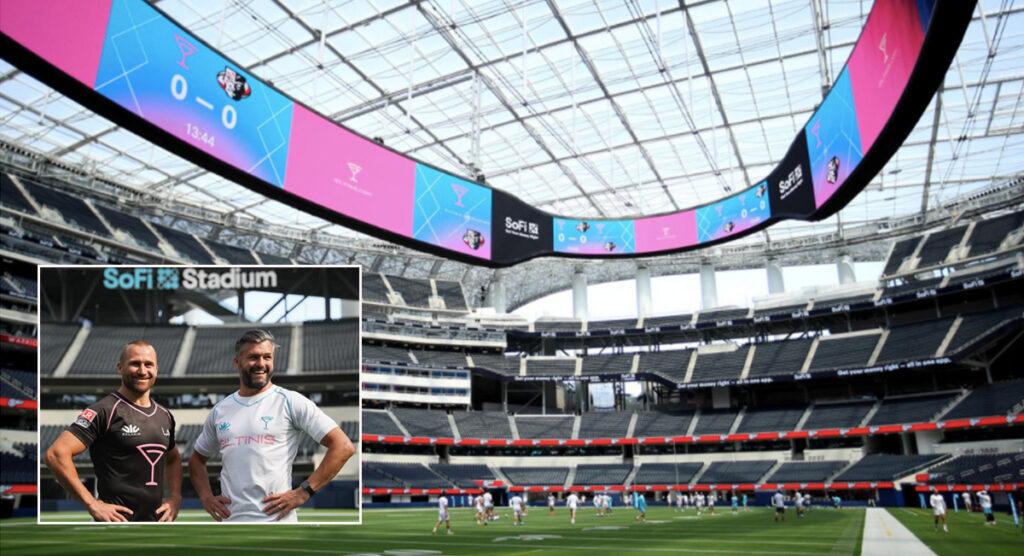 Matt Giteau's MLR team finds home in the world's most expensive stadium