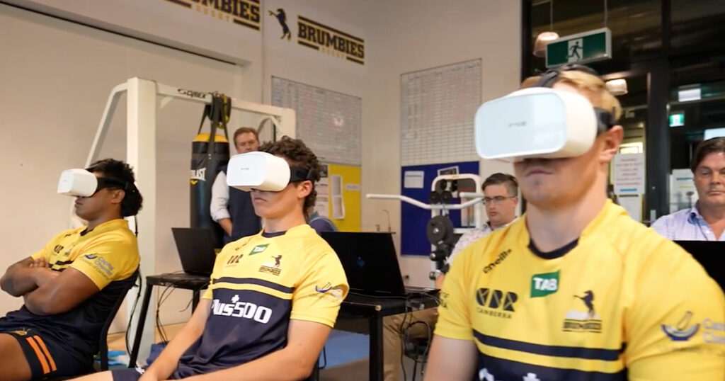 Incredible new eye tracking technology detects concussions and is being trialled in Super Rugby