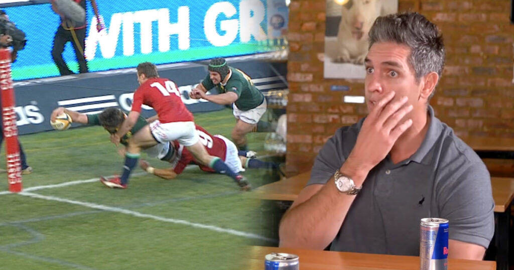 Fourie explains how THAT famous try against the Lions in 2009 was scored seconds after getting a finger in the eye