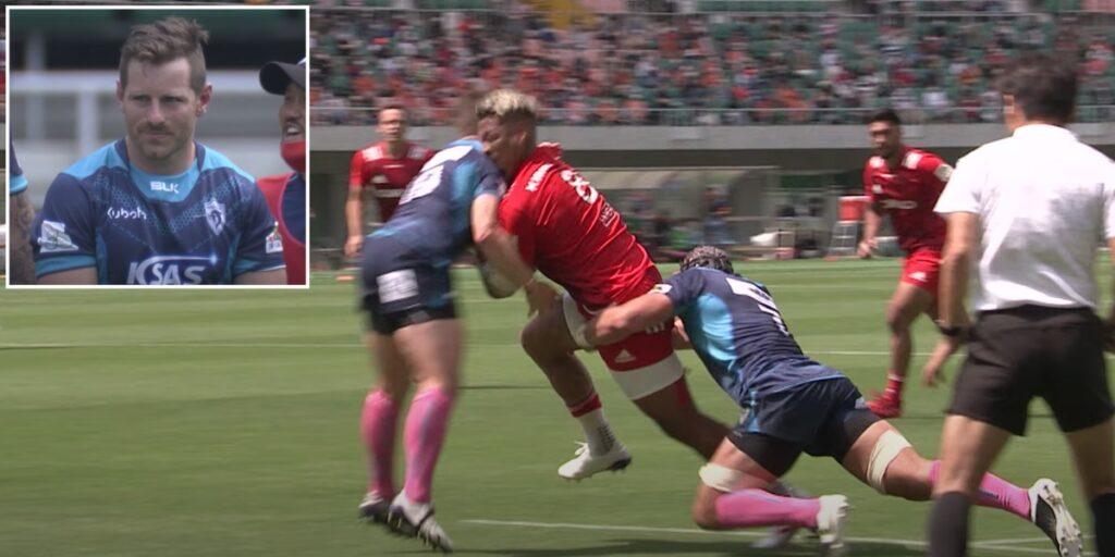 Ex-Wallabies star sees red for dangerous high shot in Japanese Top League