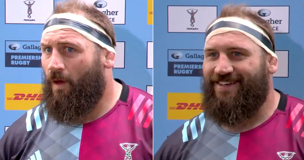 Joe Marler elated in special interview as fans return to The Stoop