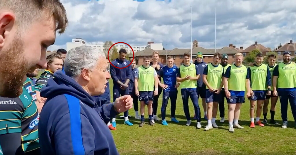 WATCH: The thrilling moment 'pretty surprised' Courtney Lawes was told of Lions call up