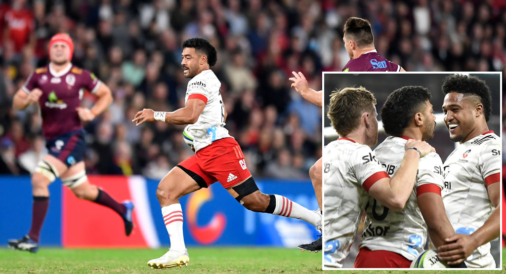 Outrageous Mo'unga hat-trick demonstrates his world class ability