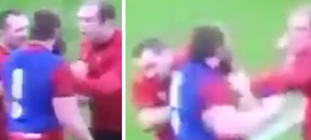 WATCH: Brutal footage of the fight between Jake Ball and Alun Wyn Jones