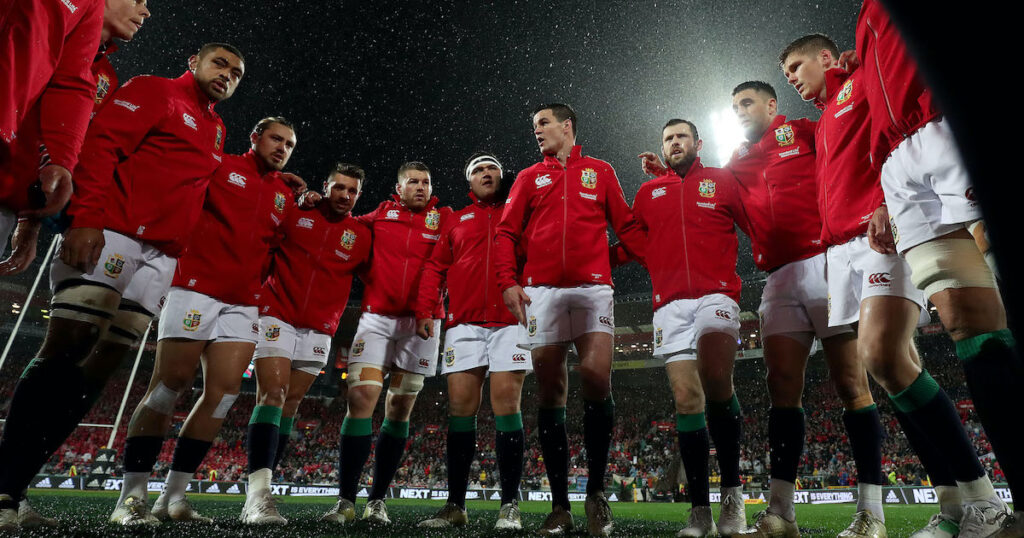 No England players in Gatland's starting line-up for opening Lions match against Japan
