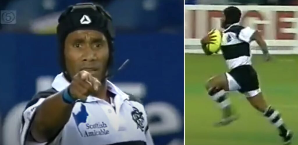 The time Waisale Serevi used his iconic hitch-kick to carve up Scotland in 2000