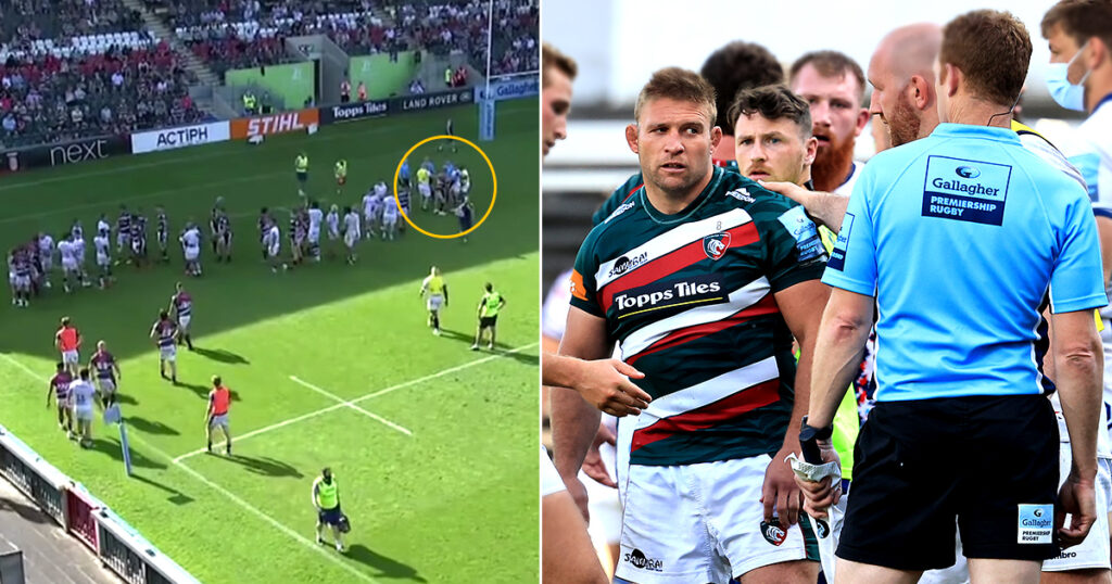 Swearing at referee results in ban for Tom Youngs after THAT controversial ending to a Premiership match