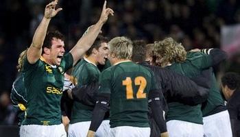 Springboks end All Black home winning streak in Dunedin