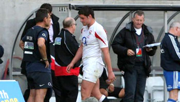 Young Calum Clark red carded for a head butt - JWC