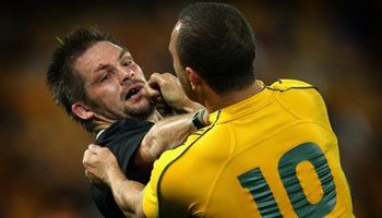 Quade Cooper cited then cleared for knee in Richie McCaw's face