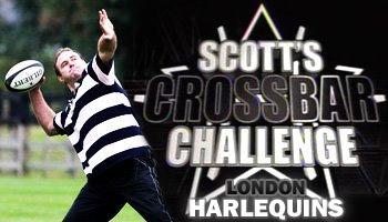 Scott Quinnell's crossbar challenge - Harlequins