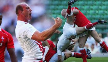 Eng vs Wales - Tackles & Aggro