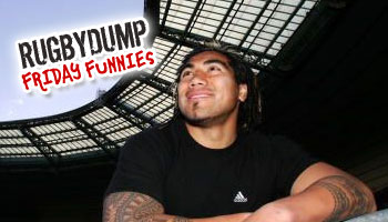 Friday Funnies - Ma'a Nonu falls off his chair