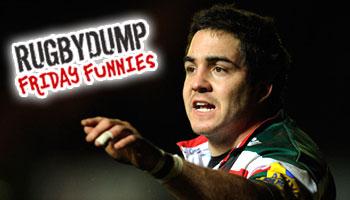 Friday Funnies - Horacio Agulla loses his pants