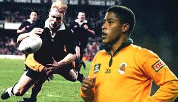 That George Gregan tackle on Jeff Wilson 1994