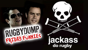 Friday Funnies - Jackass do Rugby