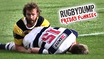 Friday Funnies - Jason Eaton pokes Brent Ward's bottom